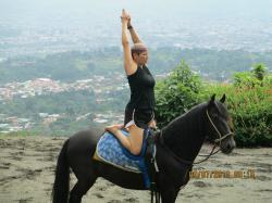 Yoga in Costa Rica when at 51 years old