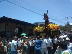 Stations of the cross in Escazu