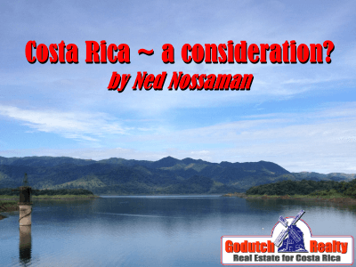 Ned Nossaman and another Costa Rica poem