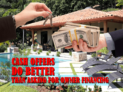 Can you pitch a lowball offer when you need owner financing?