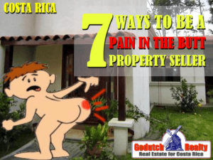 7 Ways property sellers can be a pain in the butt