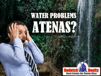 Is there a severe water problem in Atenas?