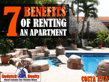 7 benefits of renting an apartment in the Central Valley