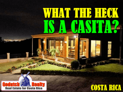 What the heck is a casita in Costa Rica real estate?