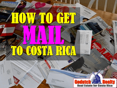 How to get mail when moving to Costa Rica