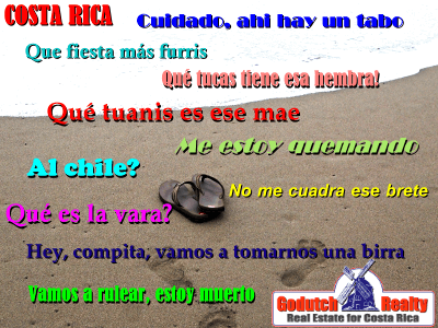 Do you want to learn Pachuco when you live in Costa Rica?
