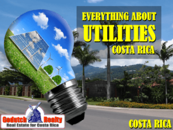 Everything about utilities in Costa Rica