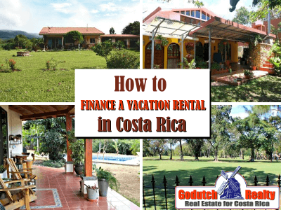 How to finance vacation rental investment in Costa Rica 1