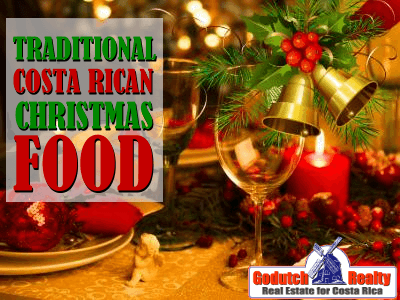 Traditional Costa Rican Christmas food