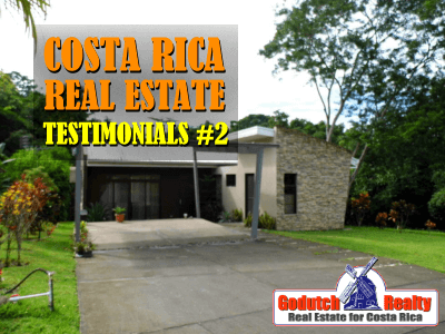 Costa Rica real estate testimonials part 2