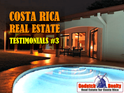 Costa Rica real estate testimonials part 3