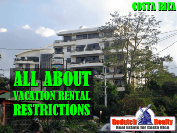 vacation rental restrictions