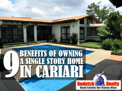 9 benefits of owning a Cariari single story home