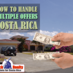 How can property sellers handle multiple offers?