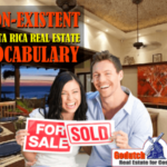 Real estate vocabulary that does not exist in Costa Rica