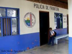 The Costa Rica border police