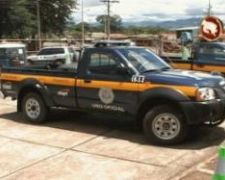 Costa Rica traffic police car