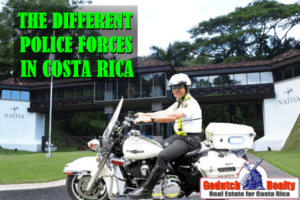 How to recognize the different police forces in Costa Rica