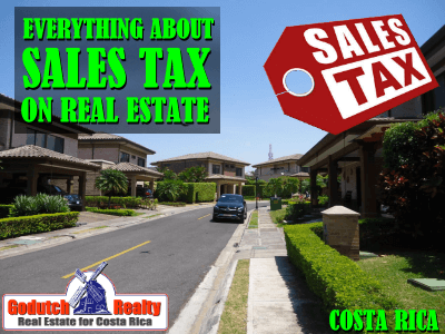 Everything about sales tax on real estate sales and rentals