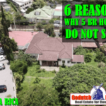 6 Reasons why 5 bedroom homes are impossible to sell