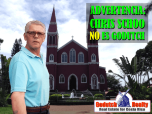 Advertencia: Chris Schoo de Dutch Grecia Realty NO es GoDutch Realty