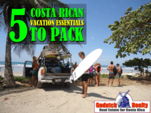 5 Costa Rican Vacation Essentials to Pack