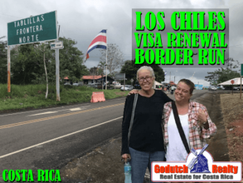 Los Chiles Visa Renewal Border Run