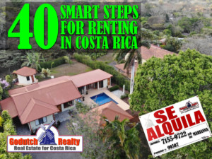 40 Smart Steps to Take before Renting a Home in Costa Rica