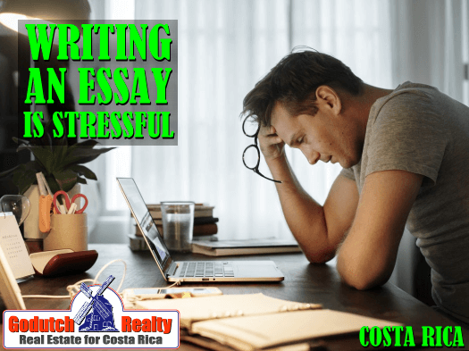 How to write an application essay for a Costa Rican college