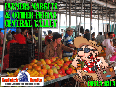 The Central Valley farmers markets and other ferias