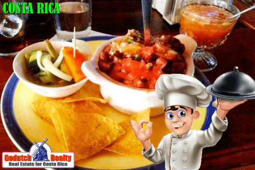 Traditional food of Costa Rica