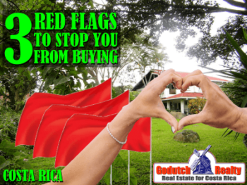 3 Red Flags that will make you run from buying a property