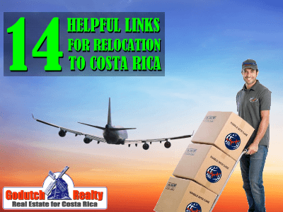 14 Relocation Topics with helpful links Costa Rica