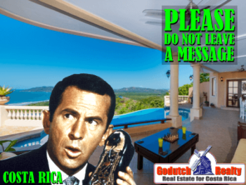 Please do not leave a message - Voicemail in Costa Rica