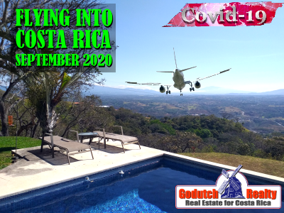 Travel to Costa Rica from Virginia during Covid19