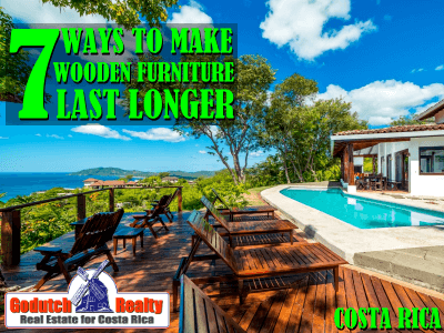 7 Ways To Make Wooden Furniture Last Longer in the Tropics