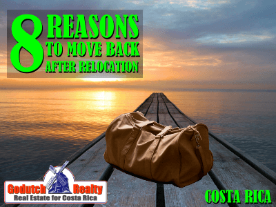 8 Reasons to move back after relocation to Costa Rica