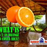 What is a Media Naranja or half an Orange in Costa Rica?