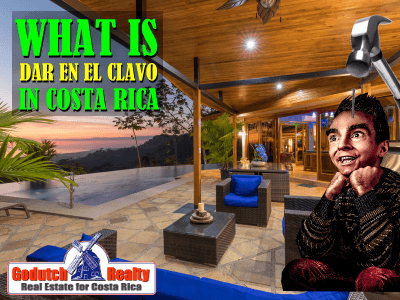 What is dar en el clavo in Costa Rica