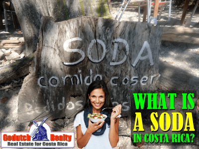 What is a Soda in Costa Rica?